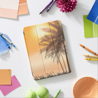 Serene Tropical Sunset & Palm Trees iPad Air Case iPad Air Cover