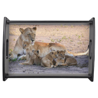 Serengeti Lions Serving Tray
