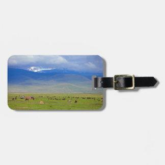 Serengeti Luggage Tag