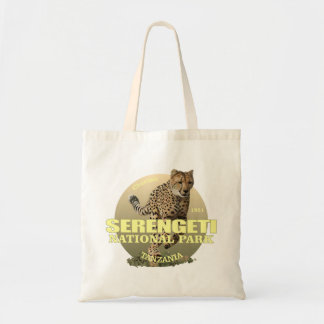 Serengeti National Park (Cheetah) WT Tote Bag