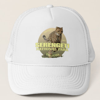 Serengeti National Park (Cheetah) WT Trucker Hat