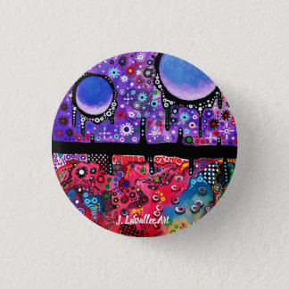 """Serenity And Disorder"" 1 Inch Round Button"