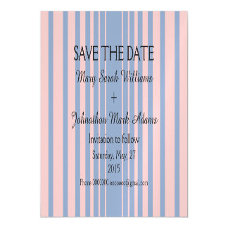 Serenity and Rose Quartz Wedding Save The Date Magnetic Invitations