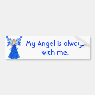 Serenity Angel Bumper Sticker