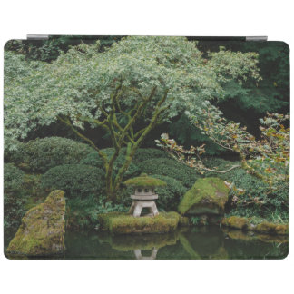 Serenity at a Japanese Garden iPad Cover