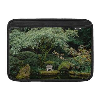 Serenity at a Japanese Garden MacBook Sleeve