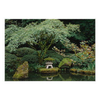 Serenity at a Japanese Garden Photo Print