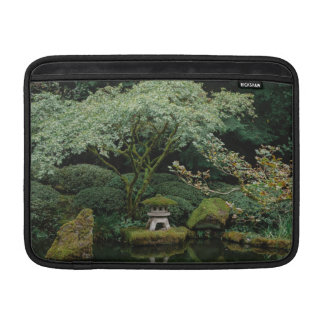 Serenity at a Japanese Garden Sleeve For MacBook Air