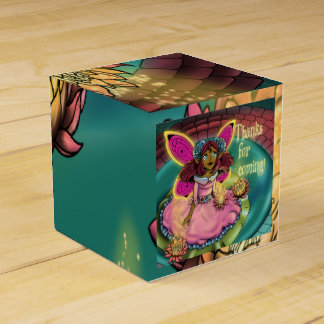 Serenity Birthday Classic 2x2 Favor Boxes, Fairy Wedding Favor Boxes