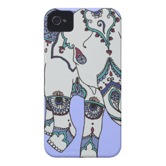 Serenity Boho Elephant iPhone 4 Case-Mate Case
