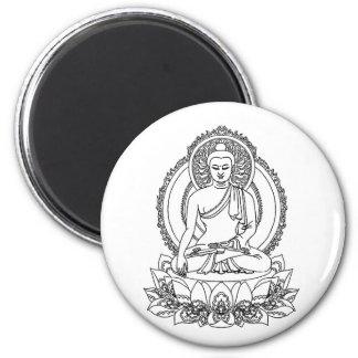 Serenity Buddha Magnet