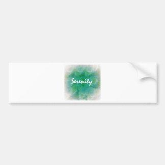 Serenity Bumper Sticker