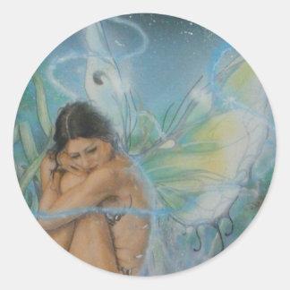 Serenity Classic Round Sticker