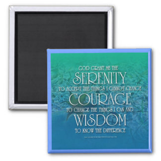 Serenity, Courage, Wisdom Magnet
