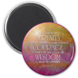 Serenity Courage Wisdom Magnet