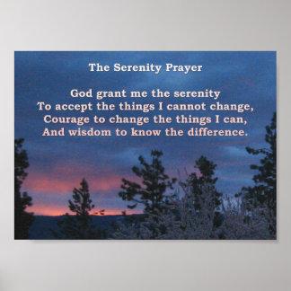 Serenity Dawn Poster