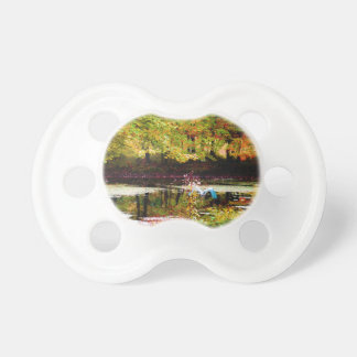 Serenity (Digital Oil on Canvas Simulation) Baby Pacifier