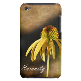 Serenity Echinacea Floral iPod Touch Case