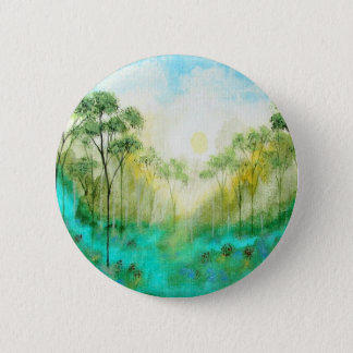 Serenity From Original Painting 2 Inch Round Button