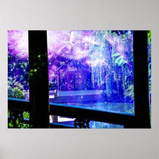 Serenity Garden Dreams Poster