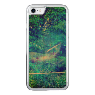 Serenity in the Garden Carved iPhone 7 Case