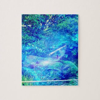 Serenity in the Garden Jigsaw Puzzle