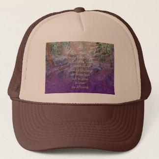 Serenity Incense Cedar Trucker Hat