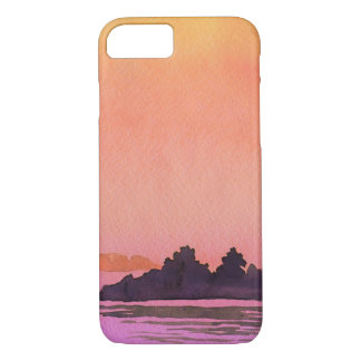 Serenity landscape Watercolor iPhone 8/7 Case