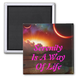 Serenity Magnet