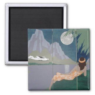 SERENITY MOON magnet (square)
