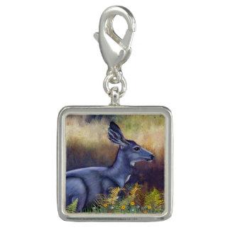 Serenity Mule Deer Doe Charm