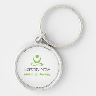 Serenity Now Massage Therapy Key Chains