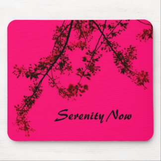 Serenity Now Mouse Pad