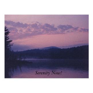 Serenity Now! Postcard