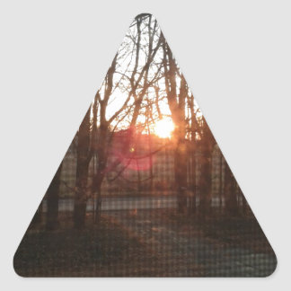 Serenity Now Triangle Stickers