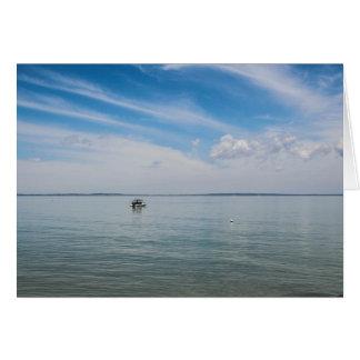 Serenity off Fraser Island Card