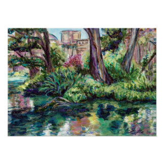 """""""Serenity"""" Palace of Fine Arts Painting Print"""