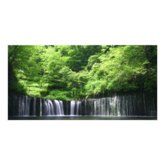 Serenity Custom Photo Card