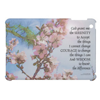 Serenity Prayer Blossoms Sky Tree Case For The iPad Mini