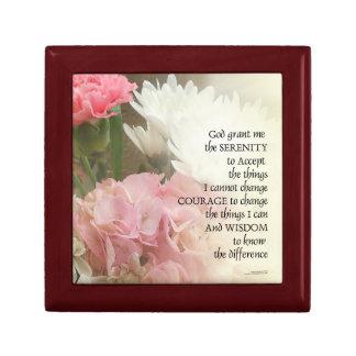 Serenity Prayer Bouquet Gift Box