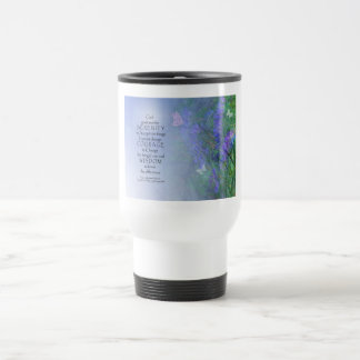 Serenity Prayer Butterflies & Vetch Travel Mug