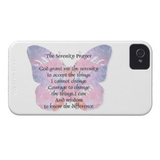 Serenity Prayer Butterfly Case-Mate Case