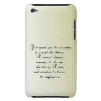 Serenity Prayer Barely There iPod Covers