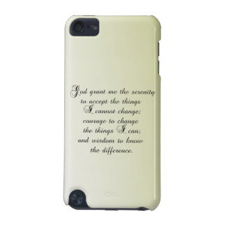 Serenity Prayer iPod Touch (5th Generation) Covers