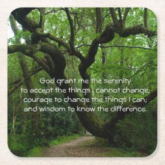 Serenity Prayer Coaster