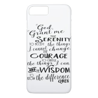 Serenity Prayer Faith Phone Case