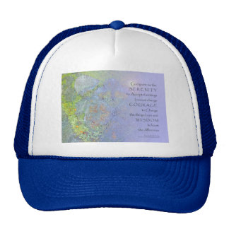 Serenity Prayer Garden Rocks Trucker Hat