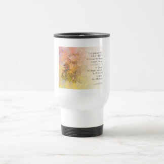 Serenity Prayer Gentle Leaves Mug