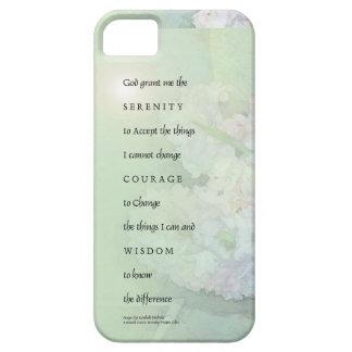 Serenity Prayer Hyacinths Blend iPhone 5 Covers