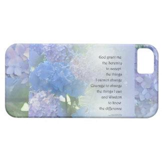 Serenity Prayer Hydrangeas iPhone 5 Cases